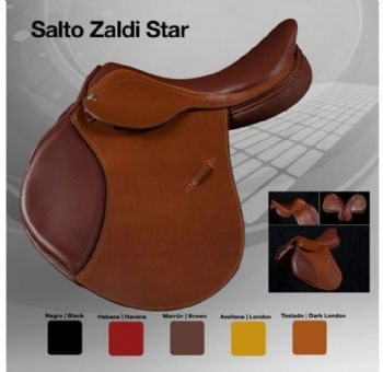 Zaldi jumping saddle - Star